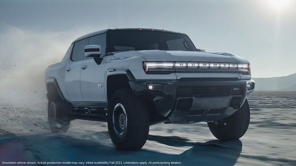 Video of 2020 GMC HUMMER EV Electric Truck driving