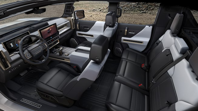 2020 GMC HUMMER EV Electric Truck full cabin view
