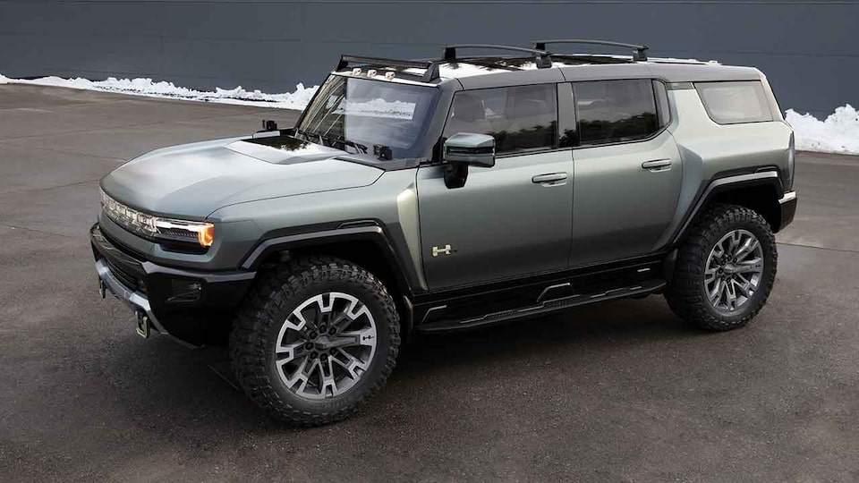 2021 GMC HUMMER EV with Chip Ganassi EV Racing