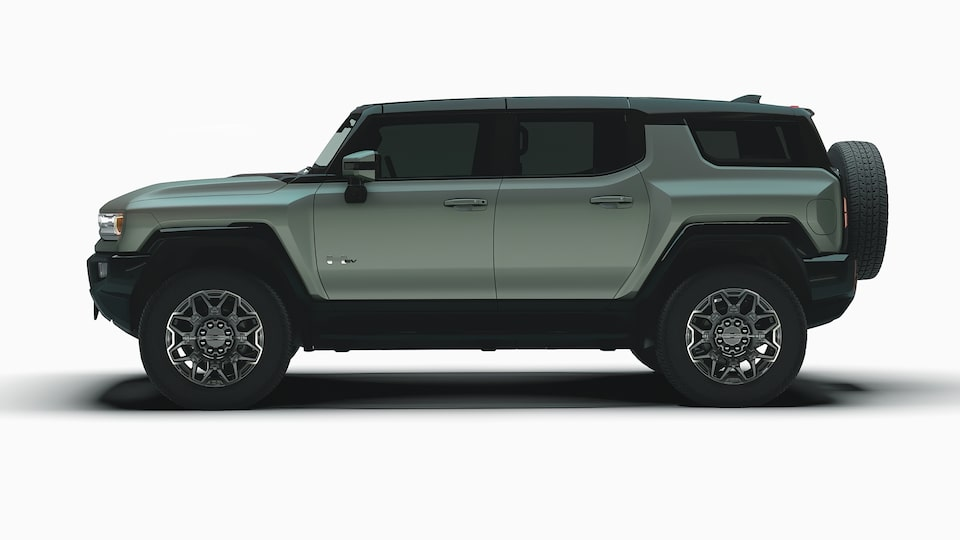 GMC HUMMER EV electric SUV side profile view